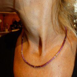 Collier de rubis