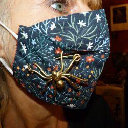 broche pour masques